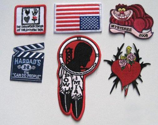 Escudos Bordados Para Planchar Personalizados
